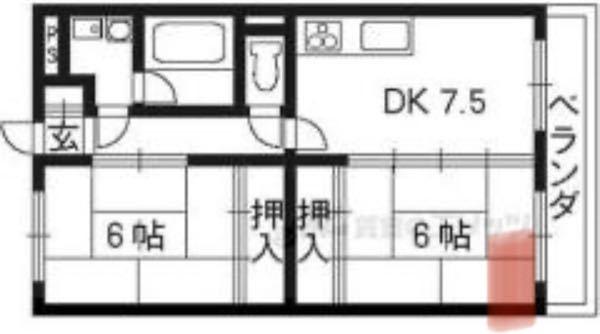 エアコンを追加1台したほうがトータル費用が高いのではないかと悩んでいます。 2人暮らしです。 赤線部分に8畳用のエアコンが既に付いており、DK7.5+和室6畳はそのエアコンで十分に夏場は凌げています。そこで、追加のエアコンなしに扇風機も併用し、玄関近くの和室(寝室)も冷やすことができないかと考えております。 1台のエアコンを追加購入するなら、多少の電気代がかかっても赤線のエアコンと扇風機を使った方が安いのではないでしょうか。 あなたはどう思いますか??