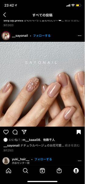 この薬指のネイルの花は3Dアートになるのでしょうか?