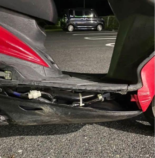 シグナス2型について質問です。 この状況だと、アンダーサイドカバーポン付けできますか?それとも外装を一度バラさないとアンダーサイドカバーは取り付けれないですか?