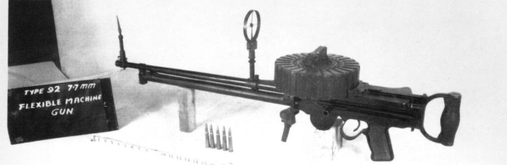 旧日本海軍の九二式七粍七機銃はルイス軽機関銃を参考に設計されてますか?