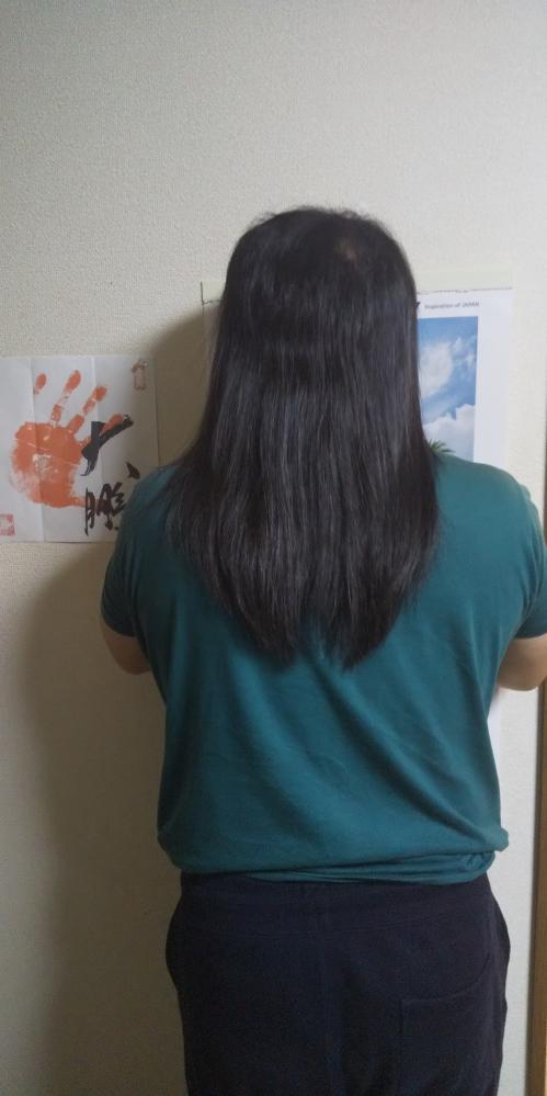 ヘアドネーションしたのですかこの長さでもできますか? まだ髪の長さが足りませんか?