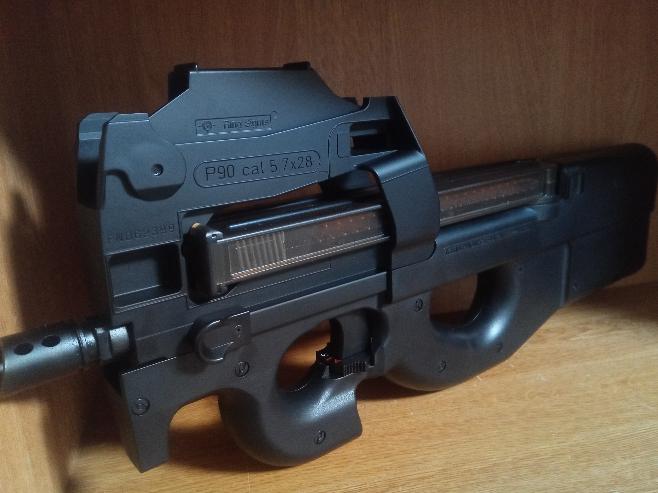 FN P90って、なんでそのままだと民間販売出来ないんでしょうか?民間モデルはPS90ですが、やっぱり威力と性能の問題ですか?