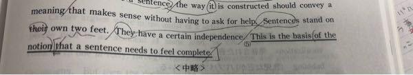 下線部(5)の訳なのですが、関係詞that節の中はどうして「文が完璧だと感じられる」という訳になるのでしょうか?