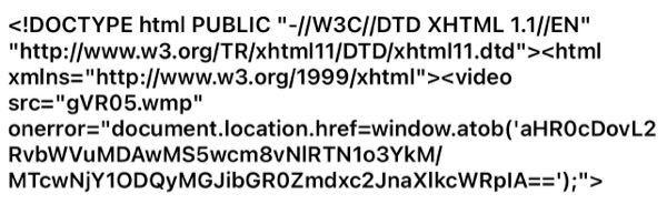 最近、朝Gmailに謎のリンクが送信されており10進数が大量に書かれてるサイトに飛ぶのですがこのような事を知っている方はいますか?もし、宜しければ教えて頂きたいです。 あと、メール名はfor boys only です。
