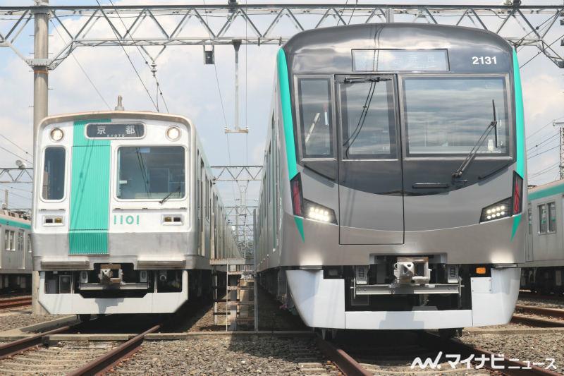 京都市営地下鉄20系はとりあえずはまずは9編成だけ導入なんでしょうか? 地下鉄路線と近鉄奈良を走る10系の後継なんだけども