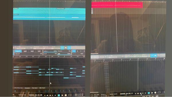 Studio Oneについて DTM初心者です! 無料版のStudio One primeを使用しています。 左のように、カーソルがトラック上とピアノロール上とで同じラインにあり、再生しても同時に動いていく時と 右のように、カーソルがトラック上とピアノロール上とで違うラインになってしまう時があります。 この切り替えの設定はどのようにしたらできますか? 詳しい方、よろしくお願いします ♀️ ♀️