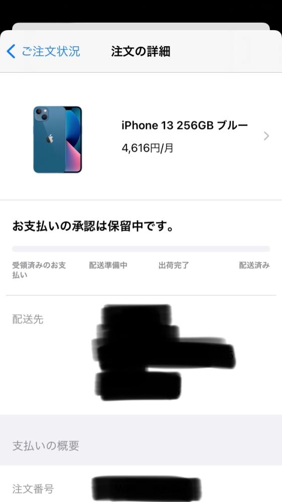 ペイディのApple専用による分割払いについての質問です。iPhoneを購入しようと注文したのですが18歳以下のためペイディに登録することが出来ませんでした。 注文画面ではお申し込みの審査結果待ちというふうになっています。 このまま待っていると届いてしまいますか? 放置していたら無くなったりしますか?