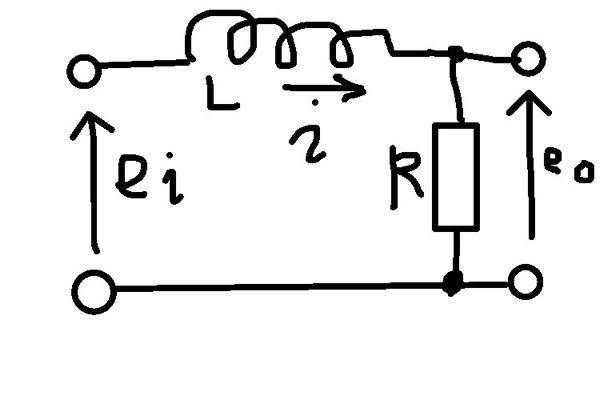 次のような回路の数理モデルを教えていただきたいです。よろしくお願いします。