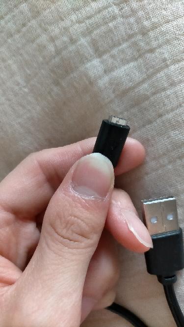 USBケーブルってこんなに小さかったですか?