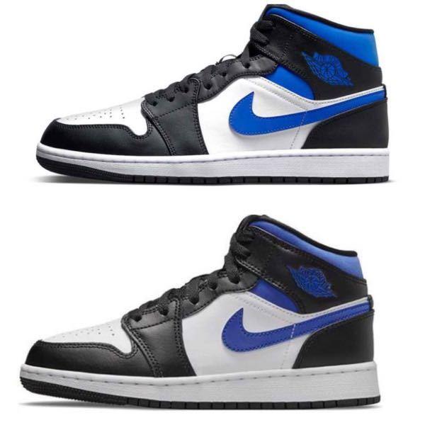 ナイキの靴を買おうと思っているのですが、 us と gs で 少し色味が違うように見えるのですが、 実際変わりませんか??