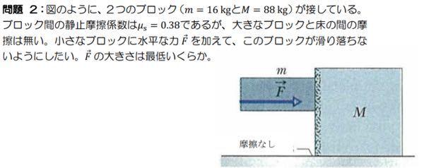 物理学の問題です。やり方を教えて下さい! 解答は4.9×10^2 Nです。