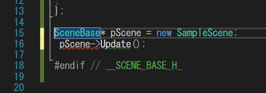C++について 早めにお願いします ここのエラー部分が「重大度レベル コード 説明 プロジェクト ファイル 行 抑制状態 エラー (アクティブ) E0077 この宣言にはストレージ クラスまたは...