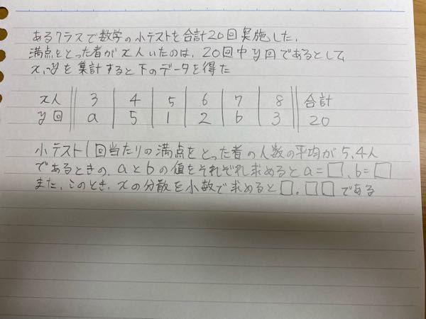 【データ分析】【高校数学】 この問題がどうしても解けないです 丁寧な解説をして頂けると嬉しいです。 よろしくお願いしますm(*_ _)m