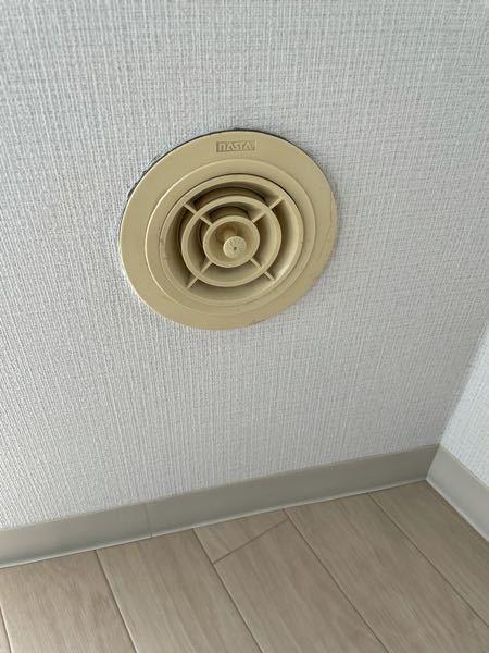 エアコンの下にあります。これは何ですか。