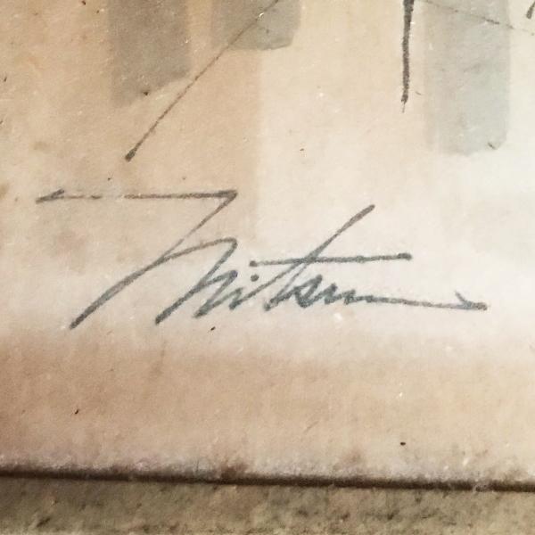 この筆記体がなんと書いてあるか分かりますか? 教えて下さい!