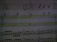 楽譜の2×()の意味が 分からないので教えて下さい。 お願いします。