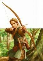 和弓と洋弓の矢をつがえる方向のちがいについて   弓矢で射るときに弓に矢をつがえますが、和弓の場合射手から見て右側に矢をつがえます しかし、洋弓(現代アーチェリーのことではありません。いわゆる中世の「ロングボウ」「ショートボウ」についてです)の場合、右につがえることと、左につがえることがあるように思います    和弓は絶対に右につがえますが、なぜ洋弓は両方につがえる事があるので...