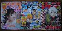現在の三大週刊少年漫画誌(ジャンプ・マガジン・サンデー)の特徴や印象、またそれぞれの雑誌で好きな漫画作品(連載終了も可)を教えてください。 最近はめっきり少年漫画を読まなくなってしまったので、今の三大雑...