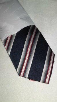 私には4月から地方の市役所勤務の決まった彼氏がいます。彼は22歳です。何かプレゼントしたくてポール・スミスでネクタイを買いました。  ネ クタイなんてどんなのがいいか全然分かんなかったので店員さんと話ながら決めたのですが買った後で今更ながら不安になってきました。このネクタイをどう思いますか?仕事でも使えるのでしょうか?評価お願いします。