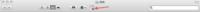 Macを使っています。ファインダーの上のところにテキストエディットが張り付いてしまいました。 このままでもいいんですが、気になって仕方ありません。 これを消す方法をご存知の方、宜しくお願いします。