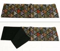 この帯は袋帯なのですが、おしゃれ用なのでしょうか、それとも礼装用なのでしょうか?色無地に合わせて使いたいですが大丈夫でしょうか。 鱗文様らしき三角の中に、毘沙門亀甲や、七宝、ひょうたん柄、うさぎ柄 ...