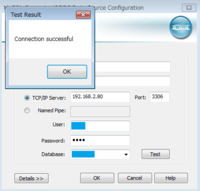エクセル VBAでMySQLへの接続について まず、エクセルがインストールされているPCのデータソースアドミニストレーターでMySQLのデータベースへの接続を確認しました(画像添付しました)。 次に、下記コードを実行したところ、エラーが発生しました。 設定値の、001、002、003、004はデータベースへの接続の確認が取れたものと同一としています。  Sub test()  'D...