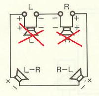 スピーカーのマトリックス接続について質問です 図を見て頂きたいのですが 現在マトリックス接続を行っているのですが リアのスピーカー(8Ω)を2個さらに増やしたいので アンプの第2スピーカ-接続部分を利用...