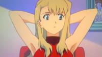 ノースリーブタートルネックを着る女性の方に質問させていただきます。 某アニメで赤いノースリーブタートルネック姿をした女の子が椅子に座ったまま両手を頭の後ろに組んでますが、あんな態勢をして脇の下や脇汗などは気にならないのでしょうか?