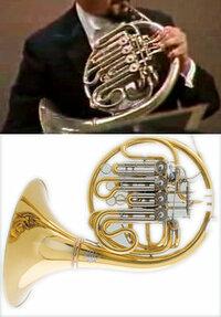 ホルン 楽器の型番について 中学校~高校と吹奏楽でホルンと戯れ、吹かなくなって数十年。  いまだにオーケストラの演奏を聞いたり、youtubeやニコニコ動画で 見たりするのが好きなのですが(吹奏楽で聞くのは...