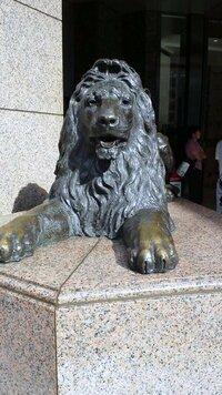 銀座三越 ライオン像は何か由緒あるんでしょうか?