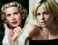 グレース・ケリーとシャーリーズ・セロンでしたら美しいのは? 金髪美人女優の代表格である故グレース・ケリーと現役のシャーリーズ・セロンでしたら、どっちの方が美しいと思いますか? 写真左がグレース・ケリー、右がシャーリーズ・セロンです。