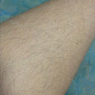 ニーソックス,右脚,除毛,ダメージ,方法,毛,脱色