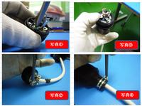 引掛け防水コードコネクタ組立作業の改善をご教示ください 仕事で上記品(パナソニック電工製 型式:WF8315K 写真参考)を使用し,製品の電源プラグとして使用しています。 これに電線を取付ける際の一連の作業が...