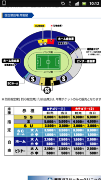 サッカー観戦初心者です 今度FC東京主催の国立競技場の試合を観に行きたいと思っています。 私はビジター(アウェイチーム)のファンなんですが、 ビジターのユニフォーム着て入れるのはビジター自由席のみなんですか? FC東京のホームページにこのような記載がありました。 『 FC東京応援エリア(=ホーム自由席、ホームGⅡ自由席、U自由席ホーム側、SS・S・SB・SG・SU指定席ホー ム側、S...
