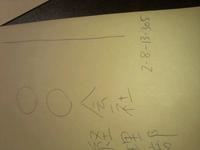 番地の書き方。番地が長くなる場合でも横書きでも大丈夫ですか?  「2-8-13-305」の場合、画像のような横書きでもマナーとして大丈夫ですか?