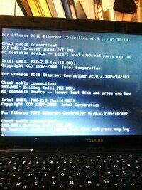windows7 PC起動時黒い画面に白い文字が出てきてデスクトップまでいけない windows7 PC起動時黒い画面に白い文字が出てきてデスクトップまでいけない   このように出てくるのですが。色々調べてF1~F12やTaB、De...