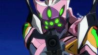 エヴァ8号機が仮面ライダーディケイドに似てると 思ったのは偶然ですか?  緑色の目やピンクのボディが似てると思いません? ディケイドも山下いくとがデザインしたんですか