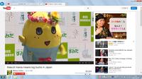 youtubeのみ、画面が急に大きくなってしまいました。どなたか元の画面の大きさに戻す方法を教えてください。 画像の様に画面が大きくなってしまいました。  OSはwindows7 home premiumブラウザはIEを使用してお...