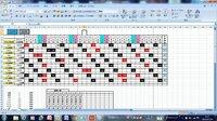 エクセルでシフト表を作りたいと思っています。 おそらくマクロ? になるかと思うんですが詳しい方お願い致します。   Aさん~Hさんまでの8人がおります。 この8人の個人割り当て時間は左の黄色いセルの時間...