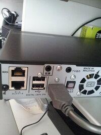 パイオニアのSTB BD-V372で外付けHDDへの録画はUSB接続のHDDには出来ないのでしょうか? LAN接続しないとダメですか?