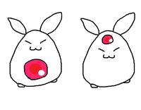 このキャラクターが思い出せません うる覚えです、お腹か額に宝石があるウサギのキャラクターなのですが、 思い出せません  カードキャプターさくらでいえば ケロちゃん マドマギでいえば きゅーべー  の立ち位置だったはずです  また、このアニメ、漫画のキャラクターも教えて下されば助かります  わからなくてモヤモヤしてます、わかるかたいたら教えてください!!!