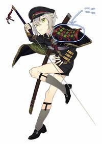 甲冑の作り方について分からないことがあります。  閲覧ありがとうございます。現在甲冑(肩部分)を作ろうとしてます。 制作するのは刀剣乱舞に出てくる蛍丸の肩当なのですが、あのしなったカーブの作り方と紐を...