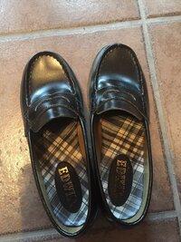 【急遽】バイトで革靴がいるんですが、学校に履いてくローファーではダメでしょうか?