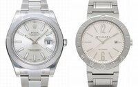 ロレックス(左)とブルガリ(右)の時計を比べて、着けているのを見たとき、より嫌味な感じを受けるのはどちらですか?