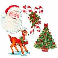 ☆サンタの衣装と、トナカイ、ツリーを 変えるとしたら、   'サンタの衣装はナニ色?  トナカイはどんな動物? ツリーはどんな木?  をイメージしますか?V(^_^)V