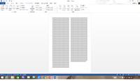 word2013の2段組みの設定について。現在、word2013で論文を書いています。 上手く説明できないのですが、最終ページが添付した画像のようにならず、同じ文字数で改行となり下に空白が出来てしまいます。  添付画...