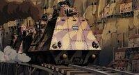 ラピュタに出てくる装甲列車は、現実的に観れば、軍事的価値はあるのでしょうか? そして、装甲列車は大陸国家の陸軍にとって重要な戦力でしょうか?