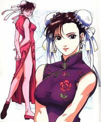 中国の伝統衣装で髪型をお団子にして、布で覆いかぶせるものあるじゃ ...