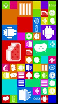 Androidです。 設定をいじっていて、薄い文字のAndroid シリーズ?4.4.4みたいなのをたくさんおしたら、こんな画面になりました。 もどったりはできるし特に害はないと思うのですが、とても気になります。できれ...