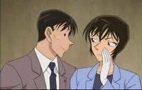 大喜利です!高木刑事と佐藤刑事は何を話しているのでしょう??